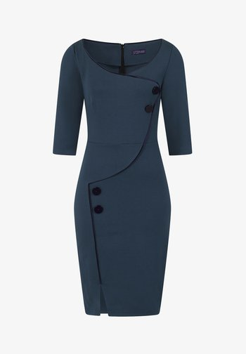 CHELSEA DRESS WITH BUTTONS