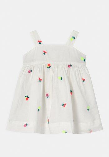 FRUIT SET - Shirt dress - new off white