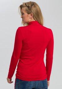 Marc Aurel - MIT TURTLENECK - Long sleeved top - red - 2