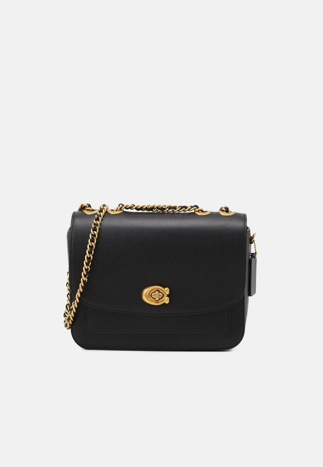 REFINED MADISON SHOULDER BAG - Schoudertas - black