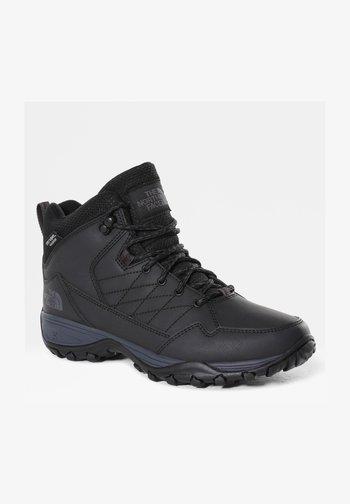 W STORM STRIKE II WP - Hiking shoes - tnf black/ebony grey