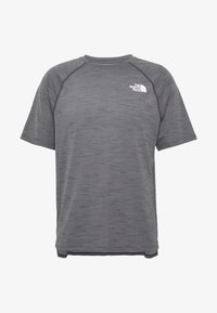 The North Face - MEN'S ACTIVE TRAIL - Print T-shirt - dark grey heather