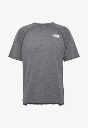 MEN'S ACTIVE TRAIL - T-shirt z nadrukiem - dark grey heather