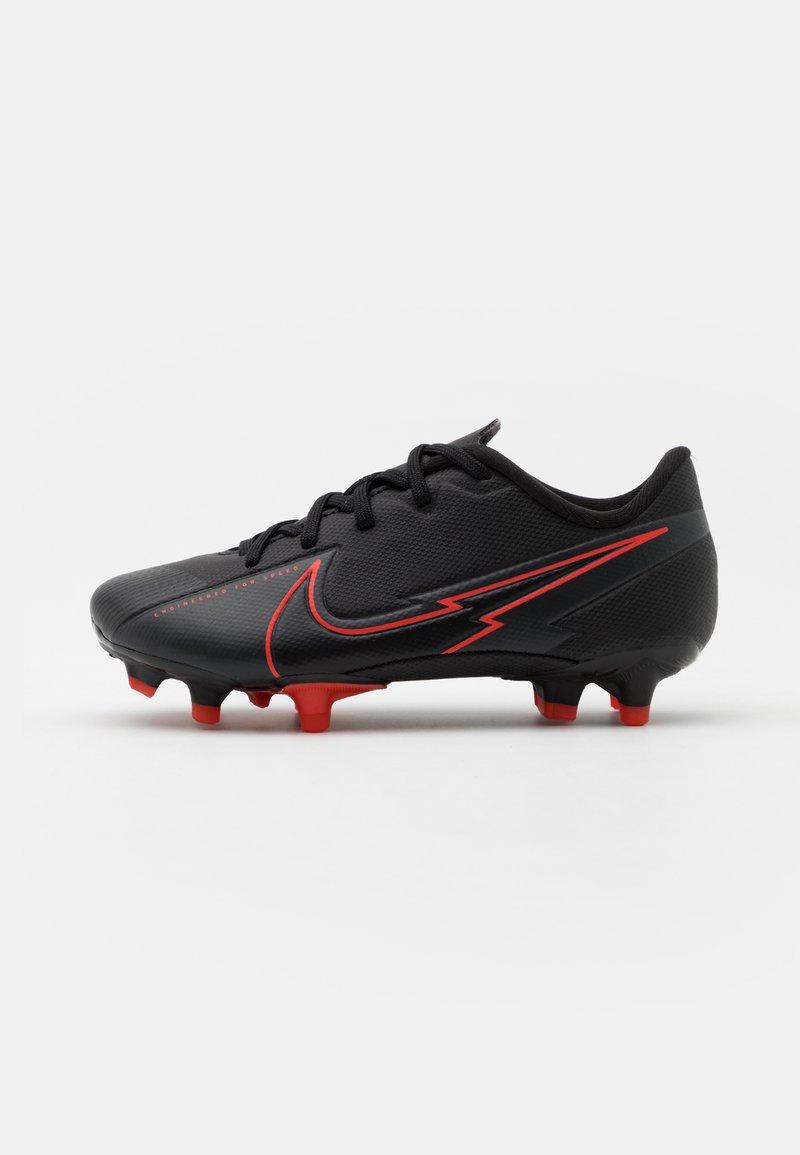 Nike Performance - MERCURIAL JR VAPOR 13 ACADEMY FG/MG UNISEX - Moulded stud football boots - black/dark smoke grey