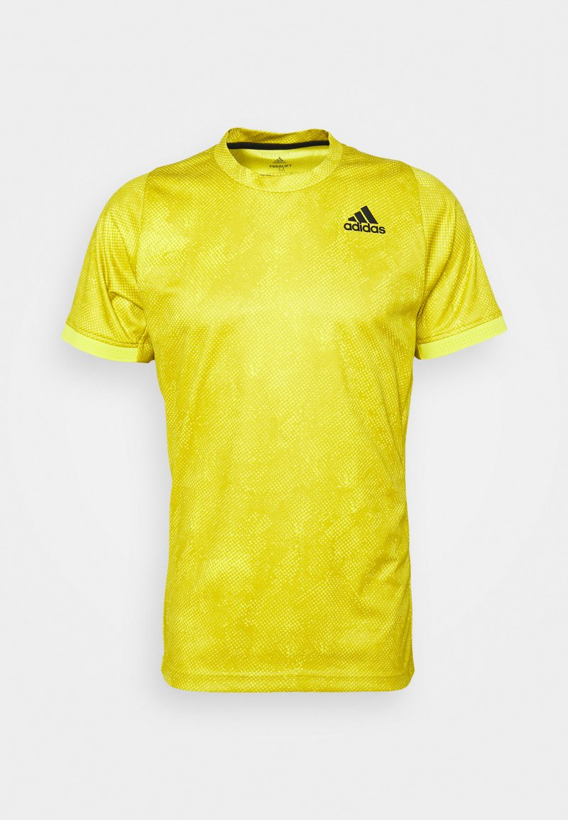 adidas Performance - TEE  - Print T-shirt - aciyel/wilpin