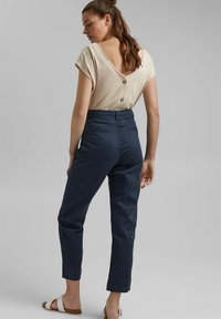 edc by Esprit - UTILITY  - Trousers - navy - 2