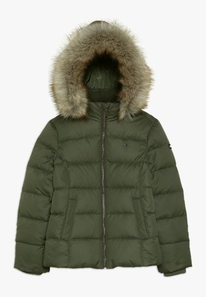 ESSENTIAL BASIC JACKET - Down jacket - green