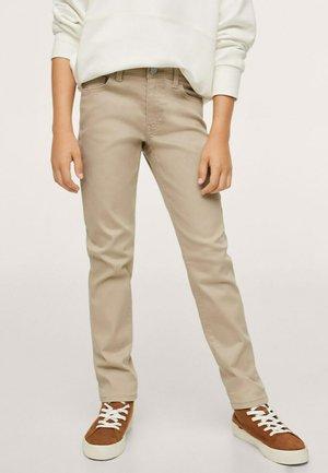 Jeans slim fit - open beige