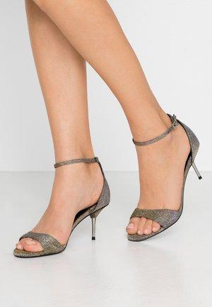 STEELE METAL - Sandals - silver