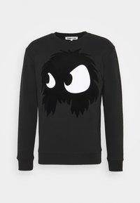 McQ Alexander McQueen - MONSTER PULLOVER - Sweatshirt - darkest black - 0