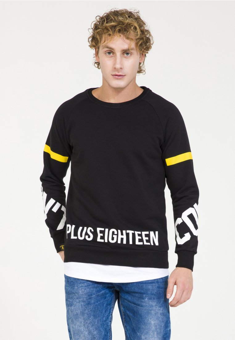PLUS EIGHTEEN - Felpa - black