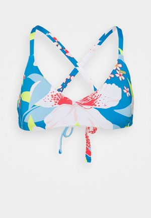 SHE JUST SHINES TRI BRA - Bikini top - french blue saya