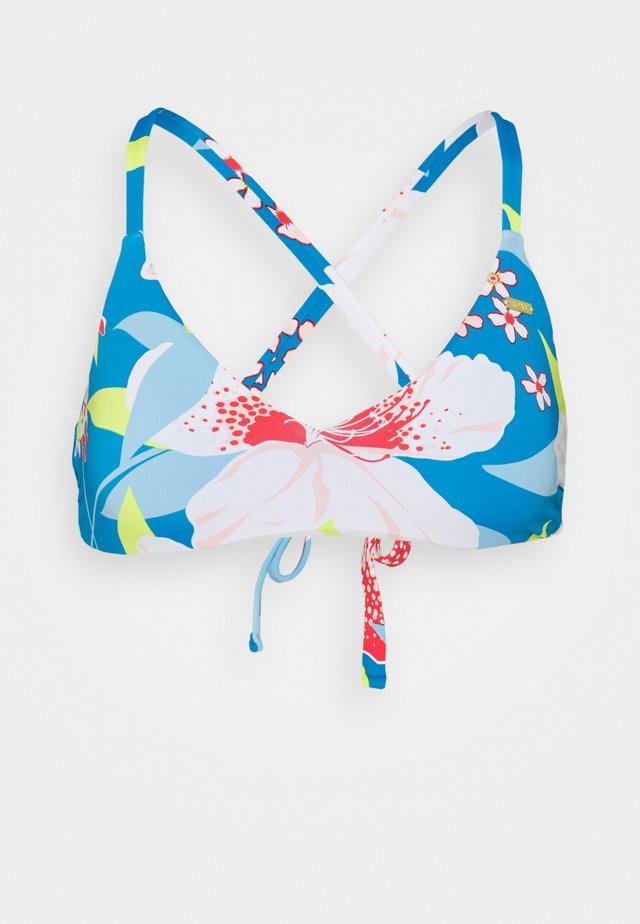 SHE JUST SHINES TRI BRA - Bikini-Top - french blue saya