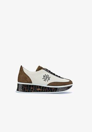 Zapatillas - white/brown