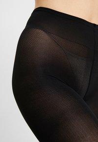 Swedish Stockings - NINA FISHBONE 40 DEN - Sukkahousut - black - 2