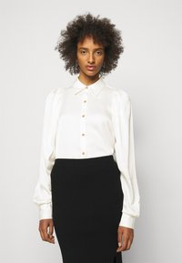 DESIGNERS REMIX - EMME SLEEVE - Button-down blouse - cream - 6