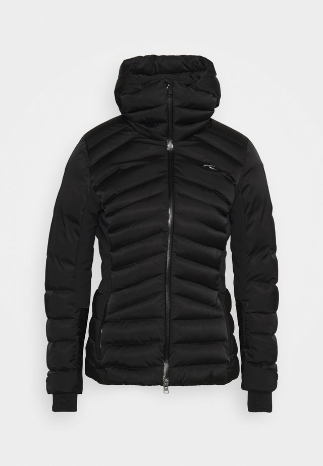 WOMEN DUANA JACKET - Ski jacket - black