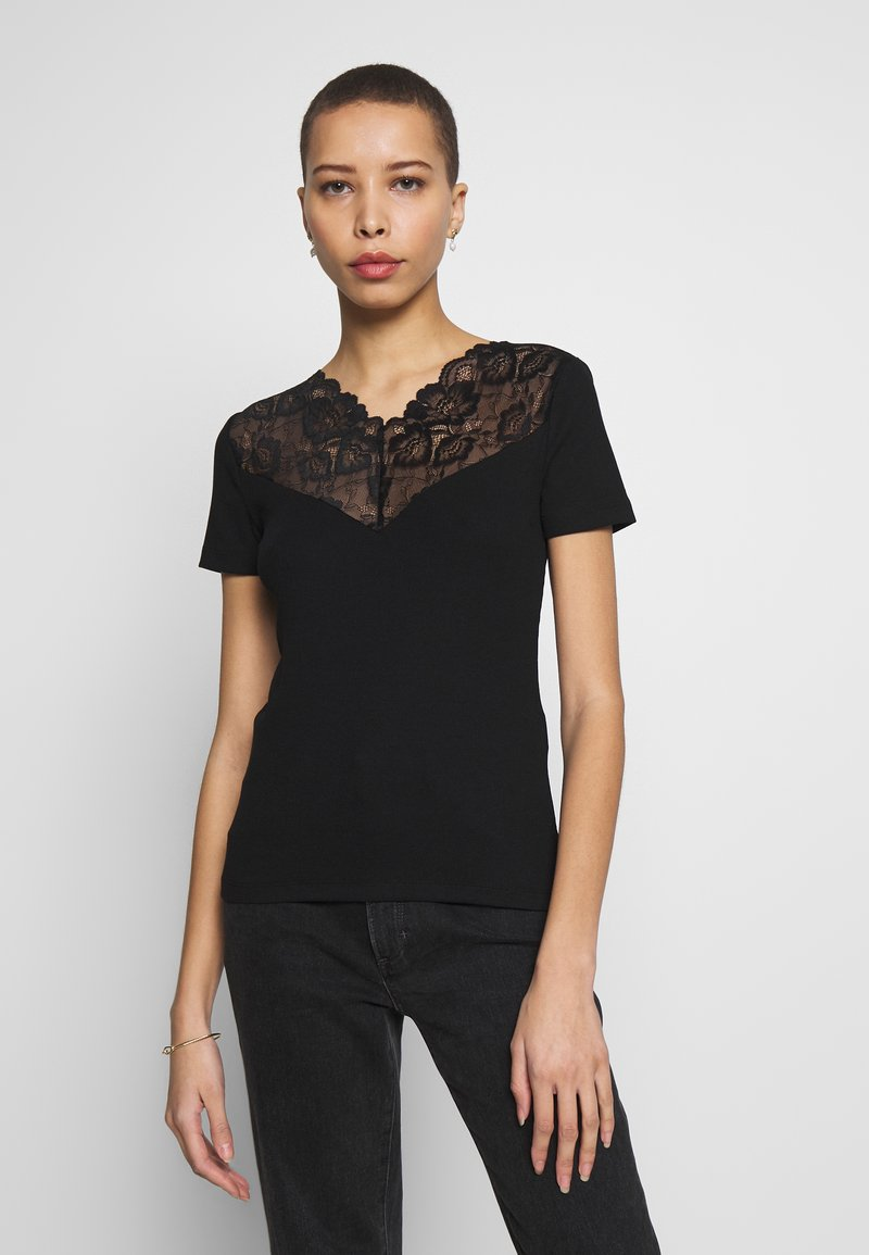 Anna Field - T-shirts med print - black