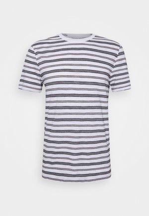 VINTAGE SLUB STRIPE CREW - T-shirt con stampa - moroccan