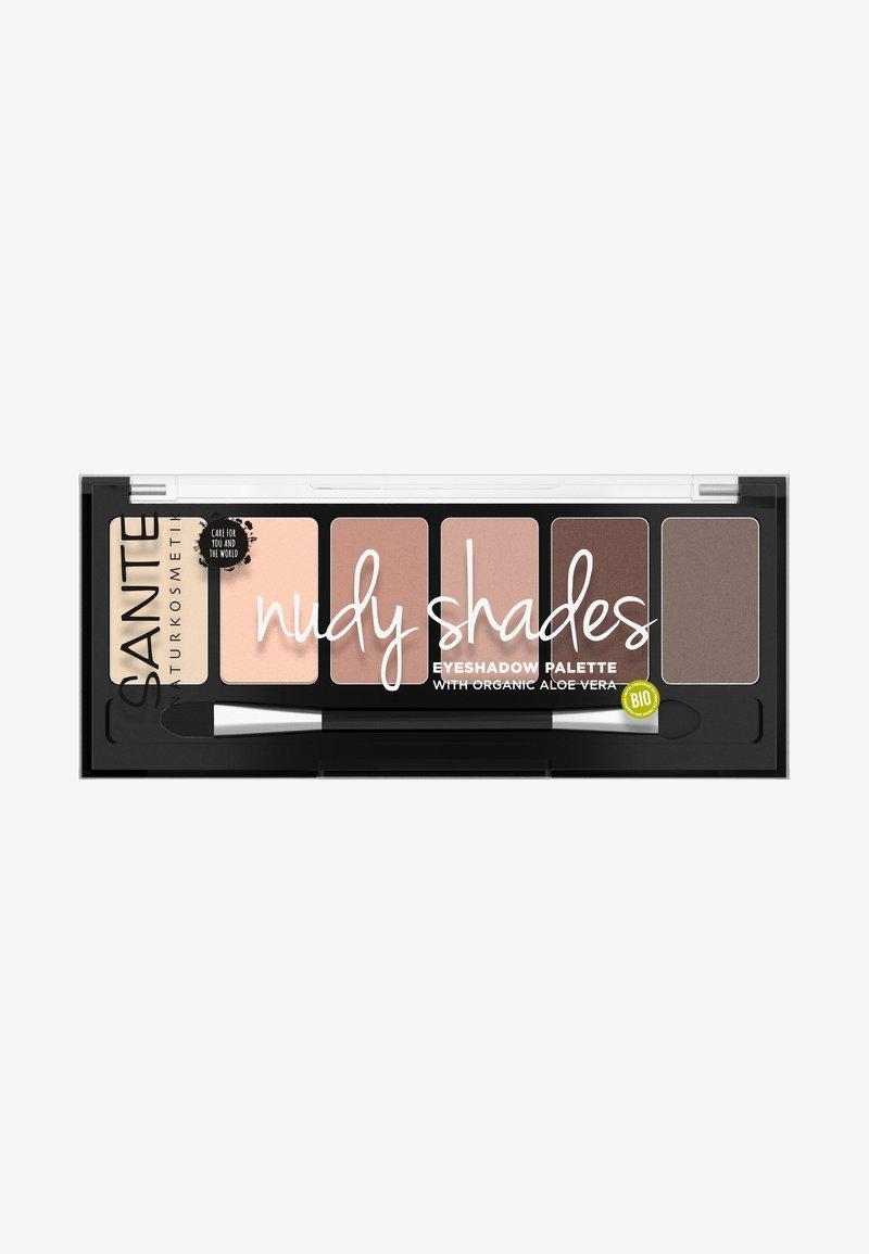 Sante - EYESHADOW PALETTE ROSY SHADES - Lidschattenpalette - nudy shades