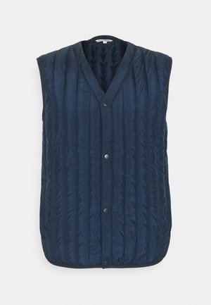PADDED V NECK VEST - Chaleco - sky captain blue