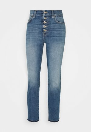 THE STRAIGHT CROP SOHO  - Straight leg jeans - light blue