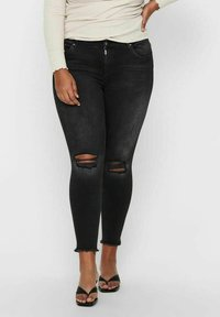 ONLY Carmakoma - Jeans Skinny Fit - black denim - 0