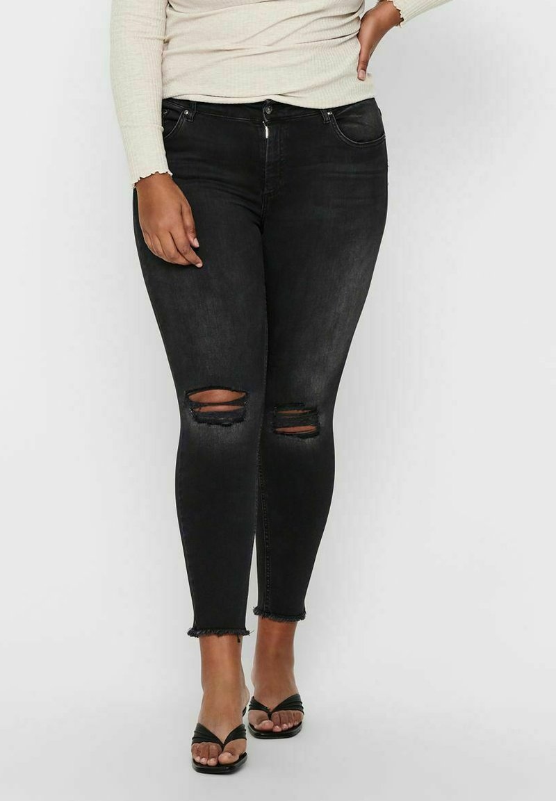 ONLY Carmakoma - Jeans Skinny Fit - black denim