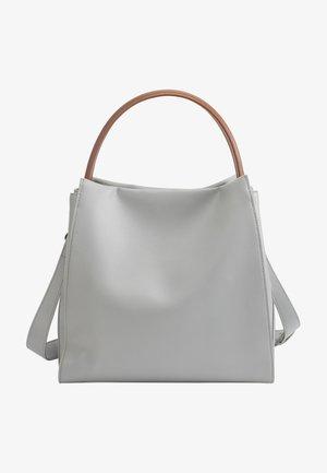 Handbag - ice grey almond