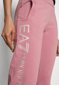 EA7 Emporio Armani - TROUSER - Tracksuit bottoms - pink - 4