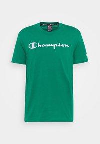 Champion - CREWNECK  - T-shirt con stampa - green - 3
