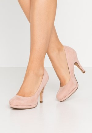 COURT SHOE - High heels - rose
