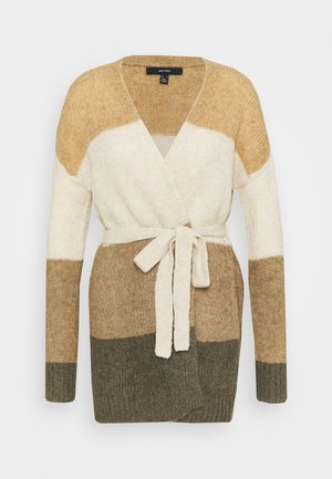 VMISABELLA BELT CARDIGAN - Cardigan - tan/birch