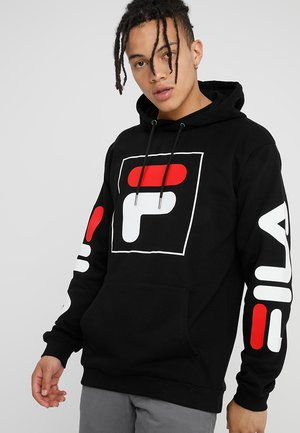 TOTAL HOODED  - Sweat à capuche - black