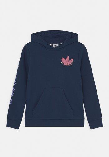 HOODIE UNISEX - Sweatshirt - collegiate navy/solar pink