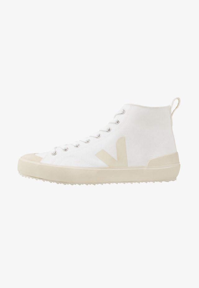 NOVA - Baskets montantes - white/pierre