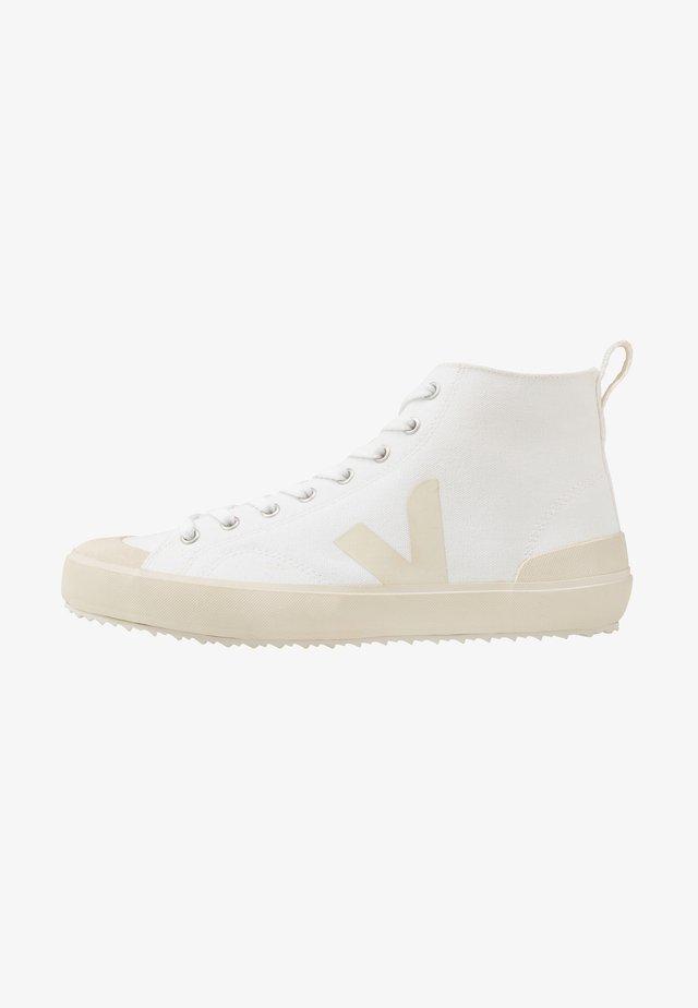 NOVA - Sneakersy wysokie - white/pierre