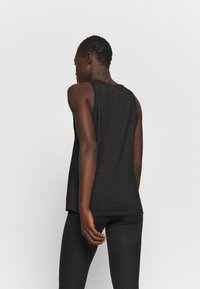 Nike Performance - DRY TANK SLUB ICON - Topper - black - 2