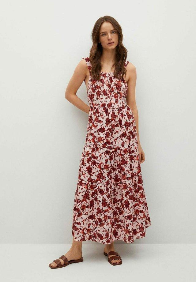 COQUET - Vestido largo - rouge