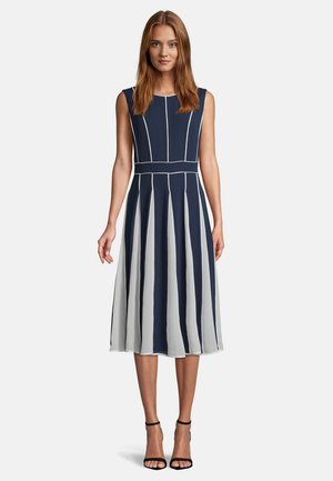 Cocktail dress / Party dress - dark blue cream