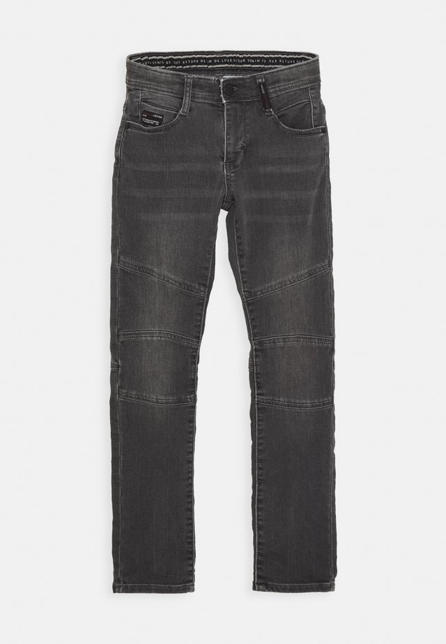 YVES - Jeans slim fit - dark grey denim