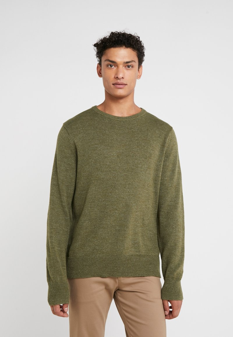 J.CREW - Jumper - heather parsley