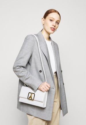 BORSA - Across body bag - white\gold-coloured