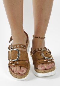MJUS - Platform sandals - brown - 0