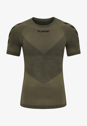 FIRST SEAMLESS  - Sports shirt - grape leaf