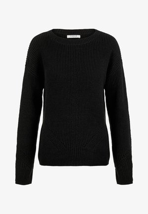 PCKARIE O NECK - Sweter - black