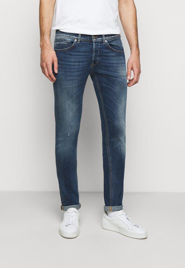 PANTALONE GEORGE - Skinny džíny - blue denim