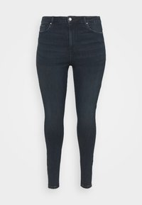 VMLOA - Jeans Skinny Fit - dark blue denim/black wash