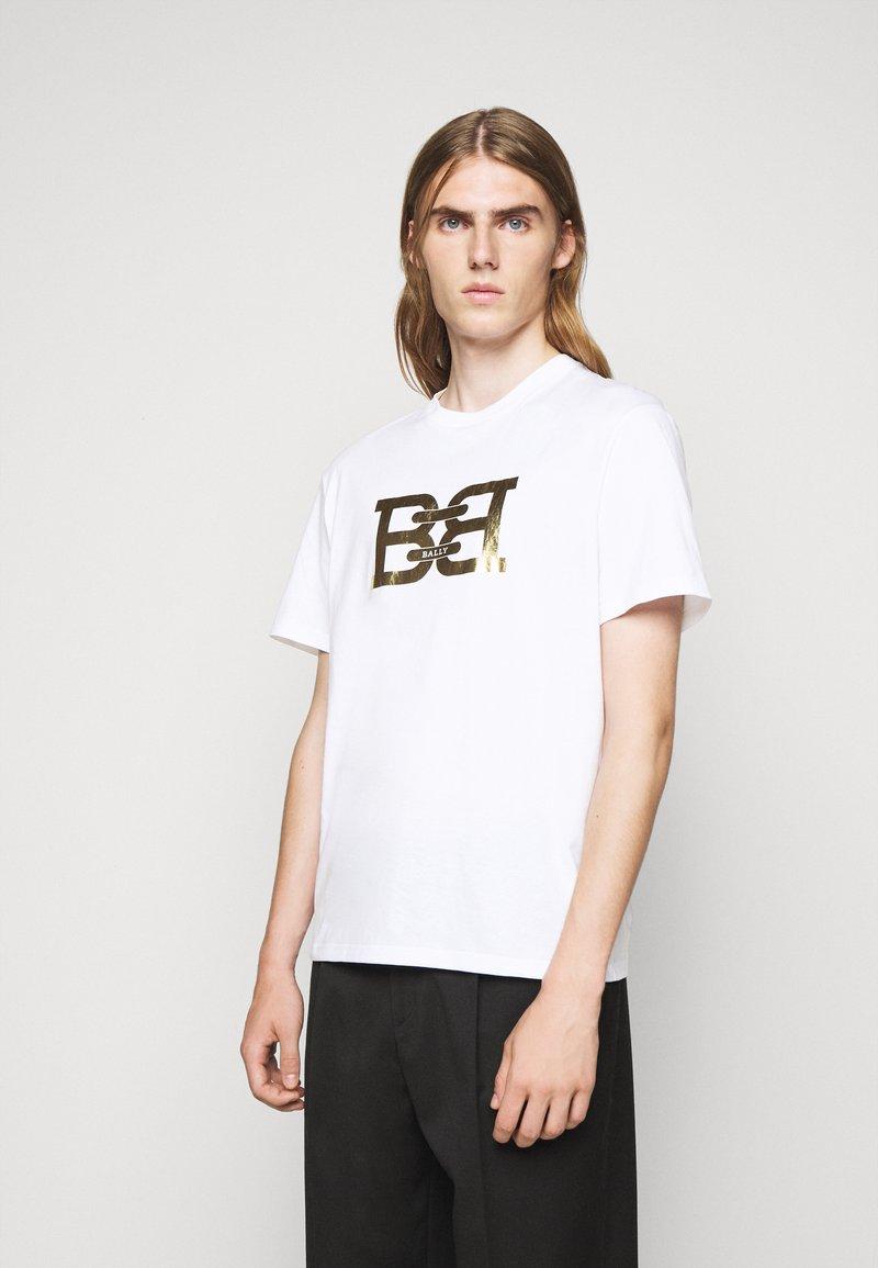 Bally - Print T-shirt - white
