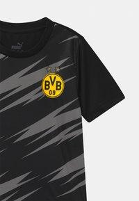 Puma - BVB BORUSSIA DORTMUND STADIUM UNISEX - Club wear - puma black/asphalt - 2